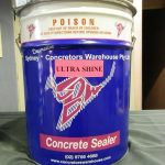 xConcrete Sealer Types - Ultra Shine
